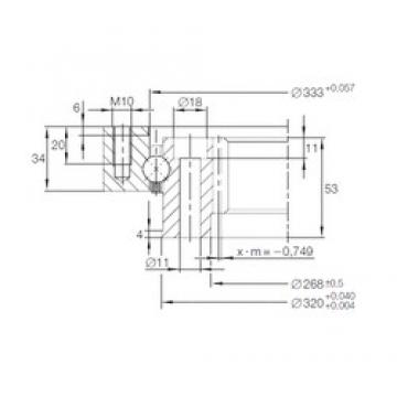 INA VI 14 0326 V thrust ball bearings
