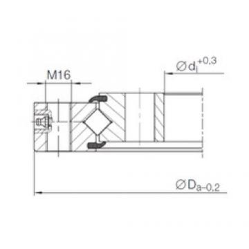 INA XU 12 0222 thrust roller bearings