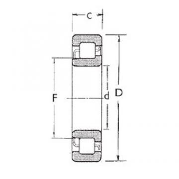 35 mm x 80 mm x 31 mm  FBJ NJ2307 cylindrical roller bearings