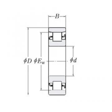 355,6 mm x 469,9 mm x 57,15 mm  RHP XLRJ14 cylindrical roller bearings