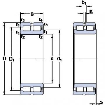 140 mm x 190 mm x 50 mm  SKF NNCF 4928 CV cylindrical roller bearings