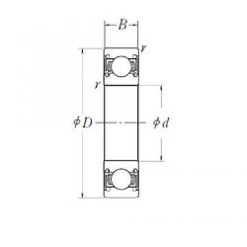 35 mm x 52 mm x 12 mm  NSK 35BX5212-DDST2NB angular contact ball bearings