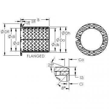AST ASTB90 F5035 plain bearings