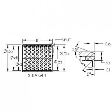 AST AST090 3220 plain bearings