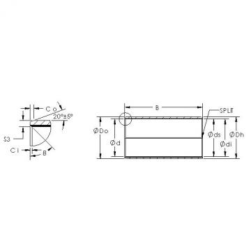 AST AST850BM 1010 plain bearings