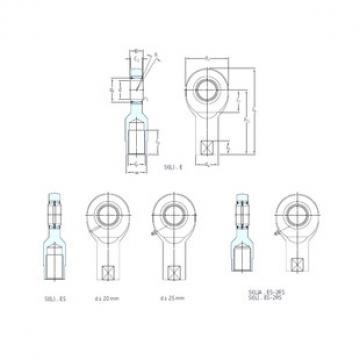 SKF SI60ES-2RS plain bearings
