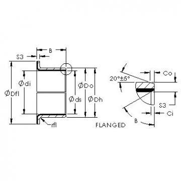AST AST40 F40260 plain bearings