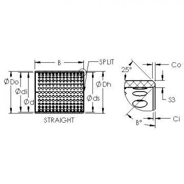 AST ASTT90 3530 plain bearings