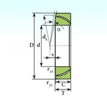 ISB GAC 140 SP plain bearings