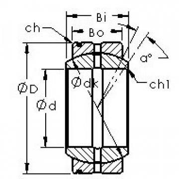AST GE110XS/K plain bearings