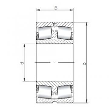 180 mm x 280 mm x 100 mm  ISO 24036W33 spherical roller bearings