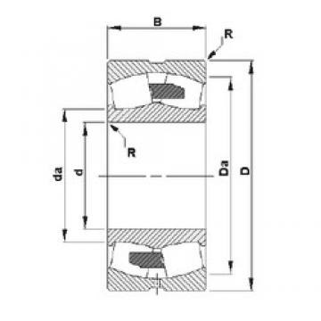 1000 mm x 1420 mm x 308 mm  Timken 230/1000YMB spherical roller bearings