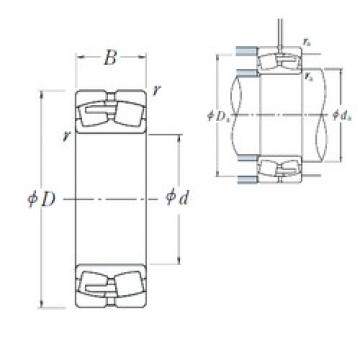 600 mm x 980 mm x 375 mm  NSK 241/600CAE4 spherical roller bearings