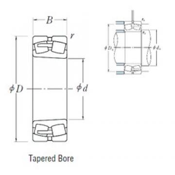 460 mm x 760 mm x 300 mm  NSK 24192CAK30E4 spherical roller bearings