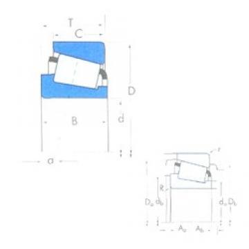 759,925 mm x 889 mm x 88,9 mm  Timken L183448/L183410 tapered roller bearings