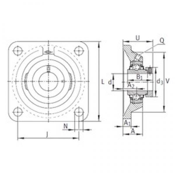 INA RCJ40-N bearing units #3 image