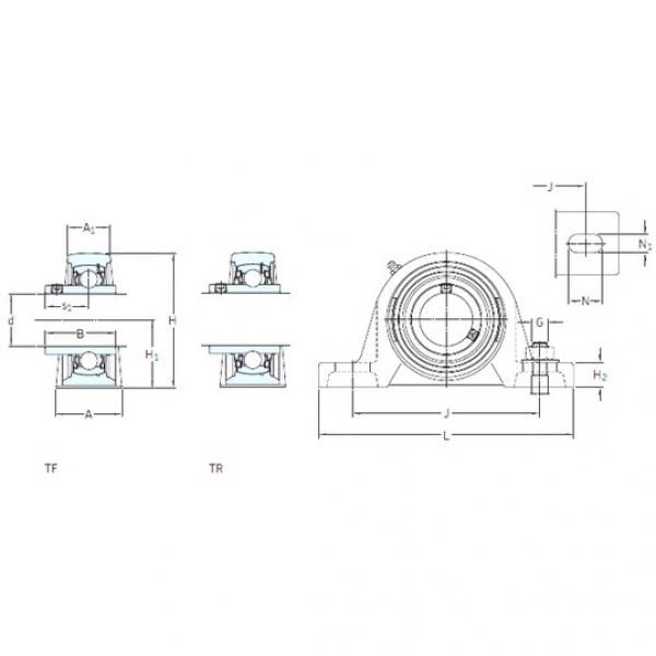 SKF SY 60 TF bearing units #3 image