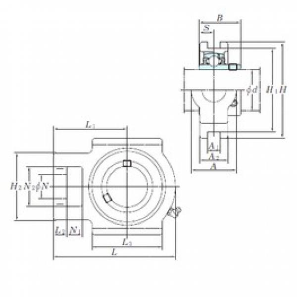 KOYO UCTX17-55E bearing units #3 image
