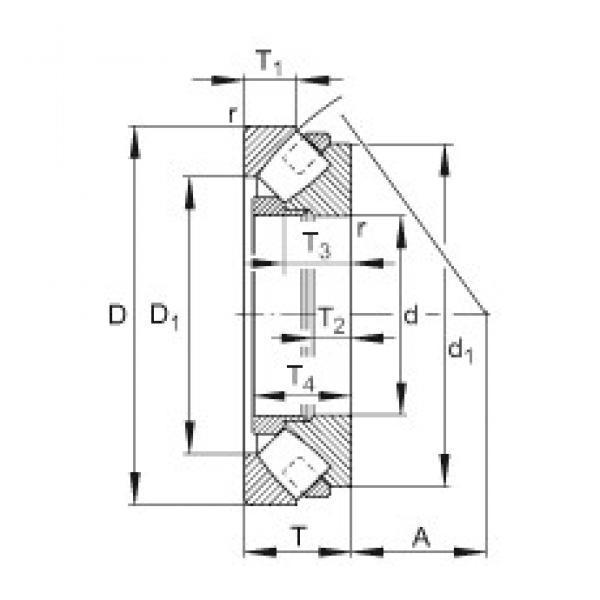 FAG 293/950-E-MB thrust roller bearings #3 image