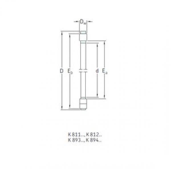 SKF K81156M thrust roller bearings #3 image