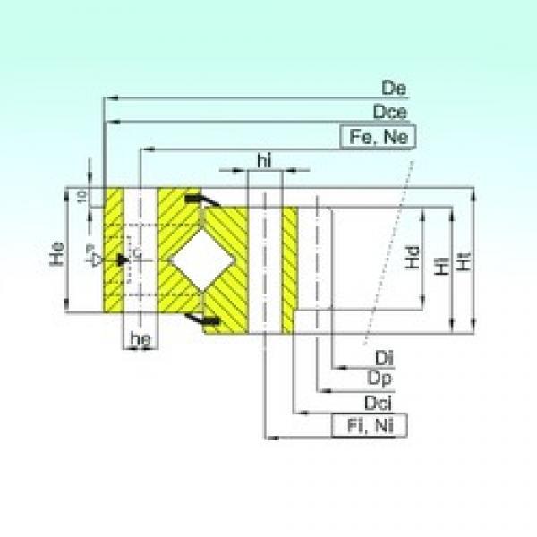 ISB ZR1.25.1050.400-1SPPN thrust roller bearings #3 image