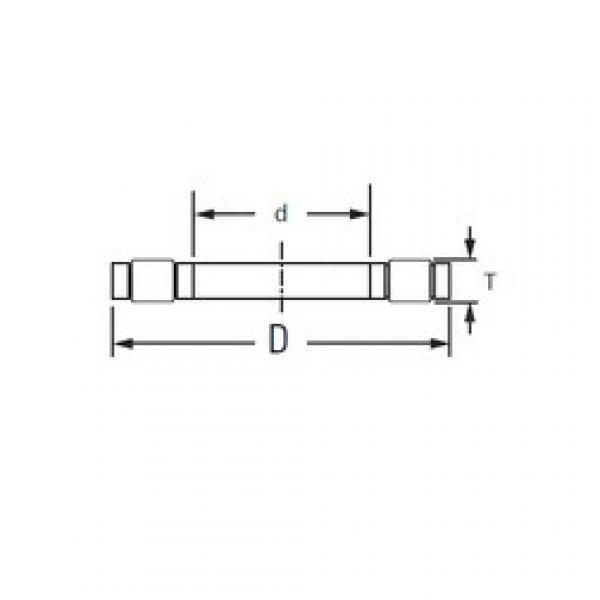 KOYO K,81217LPB thrust roller bearings #3 image