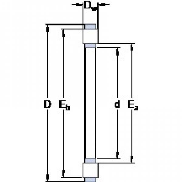 SKF K 81120 TN thrust roller bearings #3 image