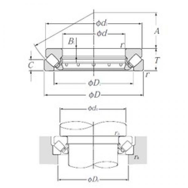 NTN 29340 thrust roller bearings #3 image