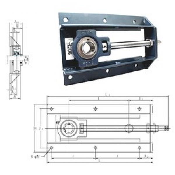 FYH UCTH212-36-300 bearing units #3 image