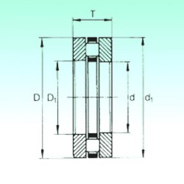 60 mm x 95 mm x 7,5 mm  NBS 81212TN thrust roller bearings #3 image