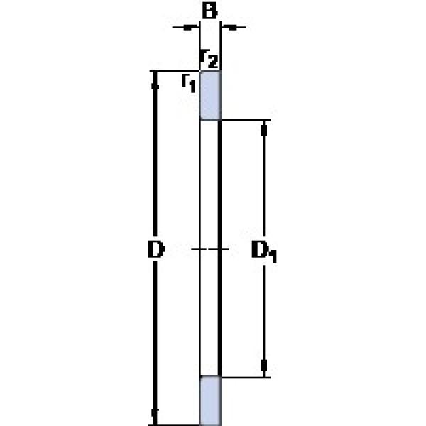 SKF GS 89422 thrust roller bearings #3 image