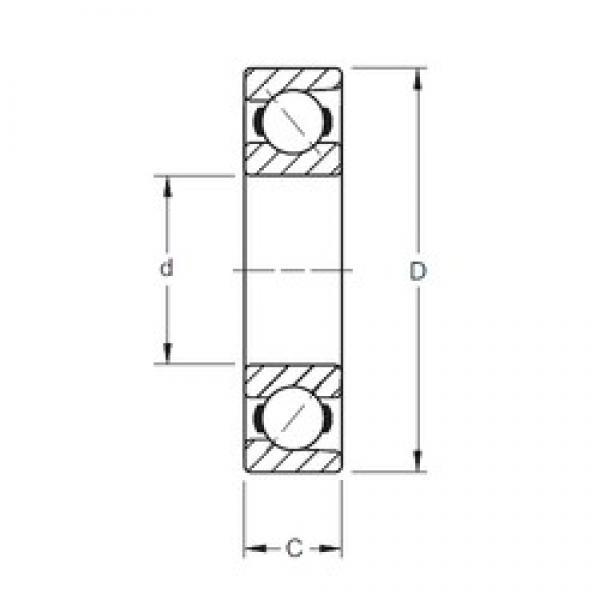 50 mm x 90 mm x 20 mm  Timken 7210WN angular contact ball bearings #3 image
