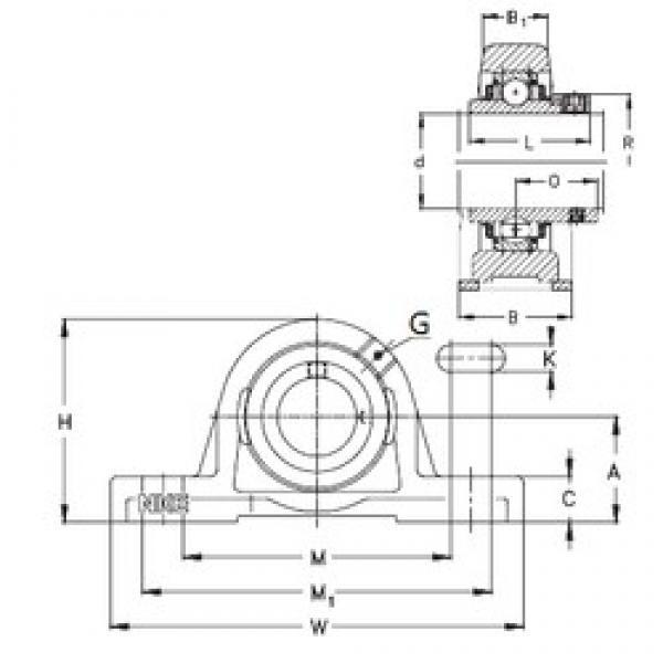 NKE PASE20-N bearing units #3 image