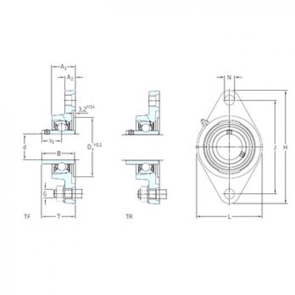 SKF FYTB 30 TF bearing units #3 image