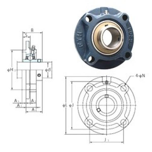 FYH UCFC201-8 bearing units #3 image