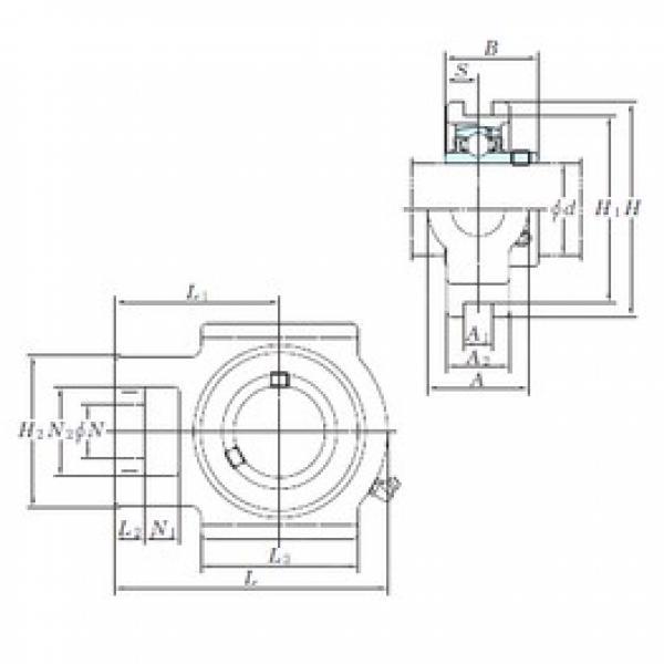 KOYO UCTX17 bearing units #3 image