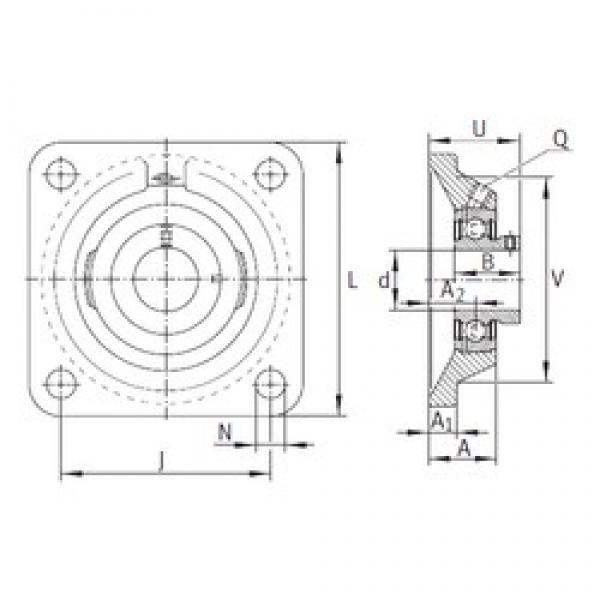 INA PCJY25-N bearing units #3 image