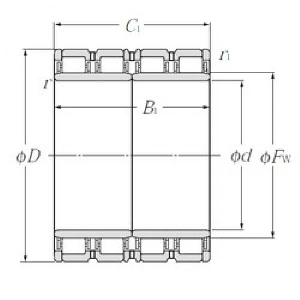 850 mm x 1 180 mm x 650 mm  NTN E-4R17004 cylindrical roller bearings #3 image