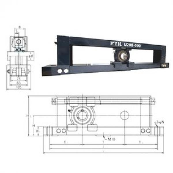 FYH UCTU314-500 bearing units #3 image