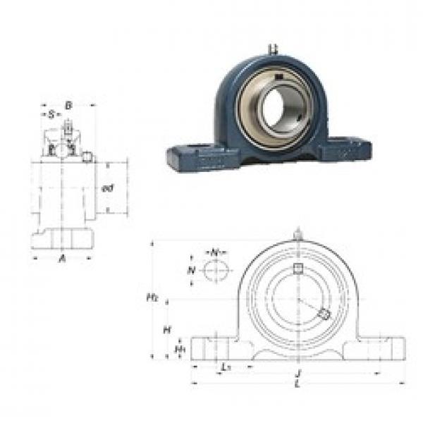 FYH UCP209 bearing units #3 image