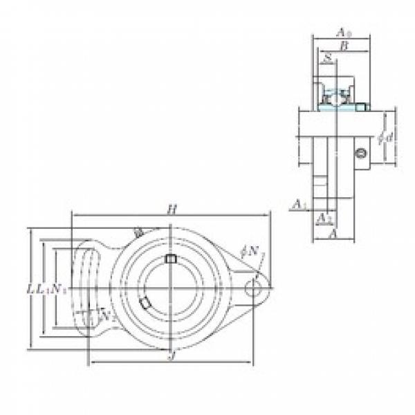 KOYO UCFA202-10 bearing units #3 image