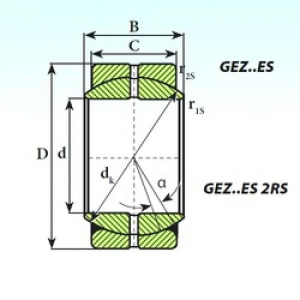 114,3 mm x 177,8 mm x 100,01 mm  ISB GEZ 114 ES plain bearings #3 image
