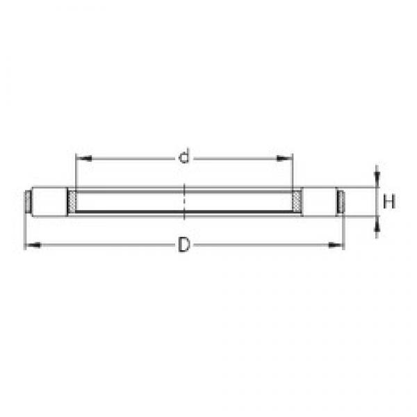 NKE K 81217-TVPB thrust roller bearings #3 image