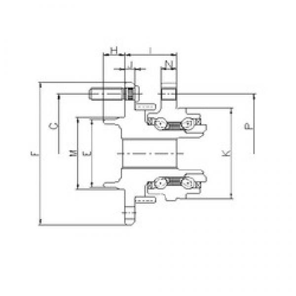 ILJIN IJ133006 angular contact ball bearings #3 image