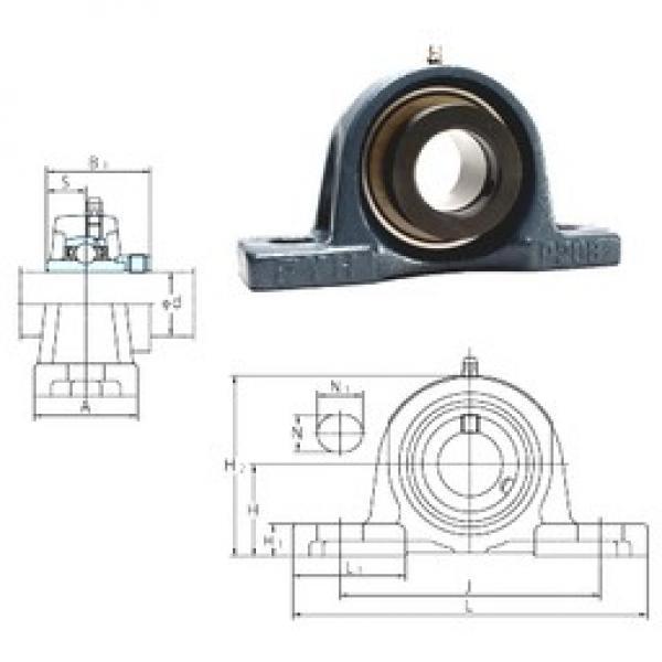 FYH NAP202 bearing units #3 image