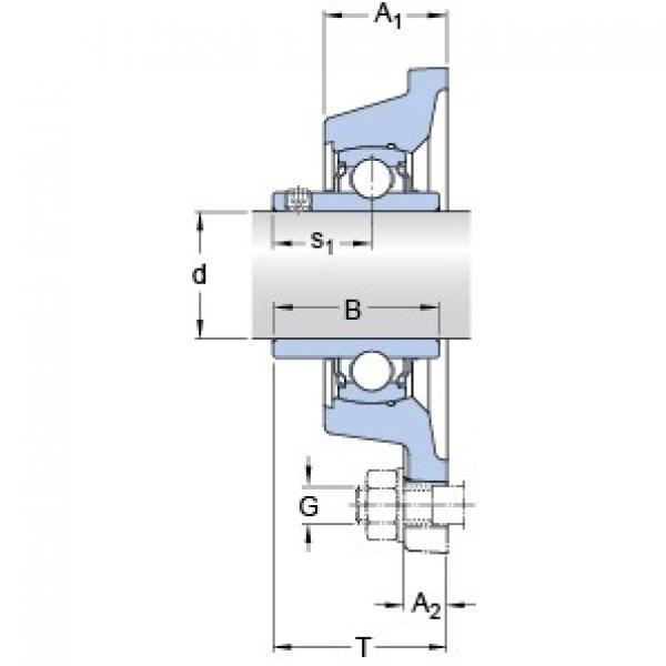 SKF FY 1.3/16 TF/VA201 bearing units #3 image