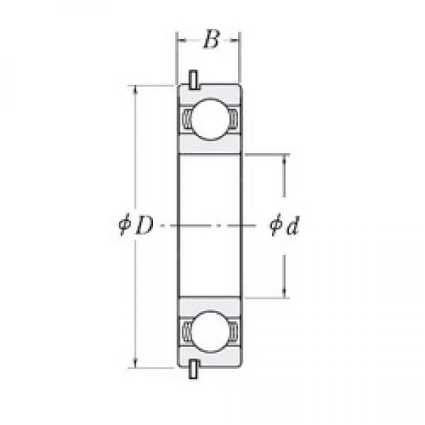 180 mm x 225 mm x 22 mm  CYSD 6836NR deep groove ball bearings #1 image