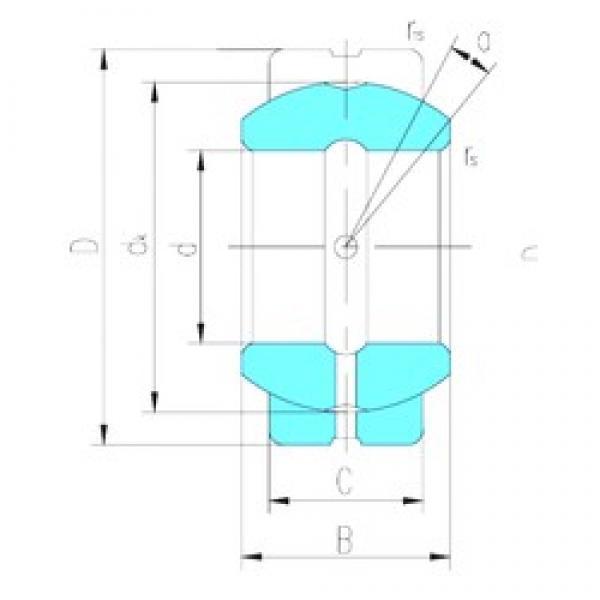 80 mm x 130 mm x 75 mm  LS GEG80ES-2RS plain bearings #3 image