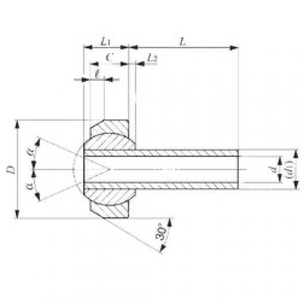 IKO SNA 4-16 plain bearings #3 image