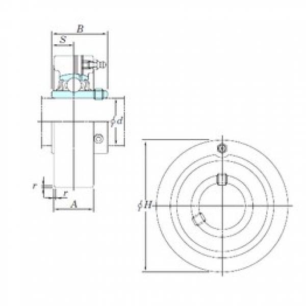 KOYO UCC305-16 bearing units #3 image